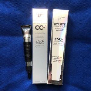 It cosmetics cc/foundation/concealer set